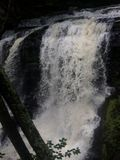 Cascade dans Child& x27 ; parc Pennsylvanie de s image stock