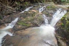Cascade dans Huay au krabi Thaïlande Photographie stock libre de droits