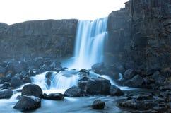 Cascade dans l'héritage de l'UNESCO Photo libre de droits