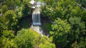 Cascade dans la région de Niagara Images stock