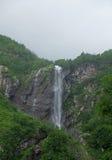 Cascade dans le Caucase Photographie stock
