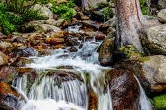 Cascade dans le Colorado image stock