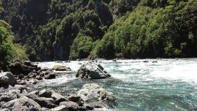 Cascade dans le patagonia, piment Photo stock
