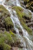 Cascade dans les montagnes carpathiennes Photos libres de droits