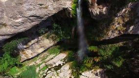 Cascade de Λα Charabotte απόθεμα βίντεο