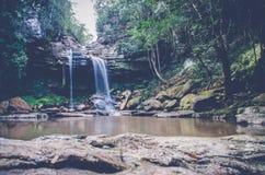Cascade 1 de Bajo Cantarana Images libres de droits
