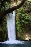 Cascade de Banias, Israël Photo libre de droits