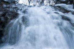 Cascade de basse perspective Photo stock
