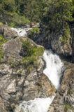 Cascade de Benasque Photos stock