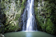 Cascade de Blancas d'Aguas Photo libre de droits
