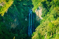 Cascade de Bosollo dans Jeneponto Images stock