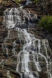 Cascade de Capra Photographie stock libre de droits