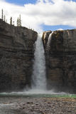 Cascade de cascade - Alberta Photo stock