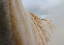 Cascade de Catarats d'Amérique du Sud Photos stock
