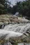 Cascade de Chamang, Bentong, Malaisie photographie stock libre de droits