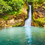 Cascade de Chamouze de cascade mauritius Images stock