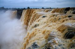 Cascade de Chitrakote Photo stock