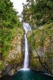 Cascade de Chorro De Dona Juana à Puerto Rico images libres de droits