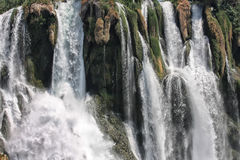 Cascade de Düden à Antalya Images libres de droits