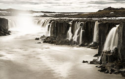 Cascade de Dettifoss Photo stock