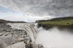 Cascade de Dettifoss Photo stock