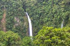 Cascade de Fortuna de La en parc national d'Arenal, Costa Rica Photos libres de droits