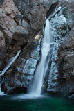 Cascade de Frezzing Images stock