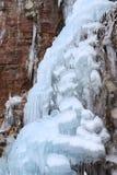 Cascade de glace volumineuse Photo stock