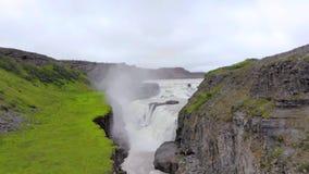 Cascade de Godafoss en Islande, l'Europe clips vidéos