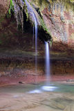 cascade de gourbachin 库存图片
