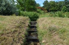 Cascade de jardin Image libre de droits
