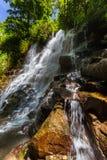 Cascade de Kanto Lampo sur l'île Indonésie de Bali Images libres de droits