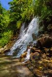 Cascade de Kanto Lampo sur l'île Indonésie de Bali Image libre de droits
