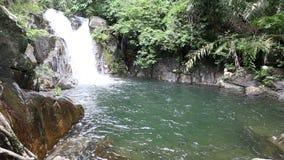 Cascade de Khlong Plakang banque de vidéos
