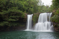 Cascade de Klong Chao en Thaïlande Photographie stock