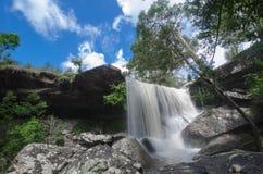Cascade de kradueng de Phu Image libre de droits