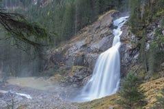 Cascade de Krimmler - Autriche photo libre de droits