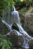 Cascade de Kroshunski au cours de la journée Photo libre de droits
