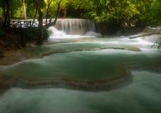 Cascade de Kuangsi dans Luang Prabang Laos photos stock