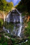 Cascade de l'apuane d'alpi d'acquapendente images libres de droits