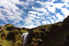 Cascade de l'Islande Images stock