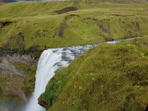 Cascade 4 de l'Islande Image libre de droits