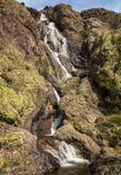 Cascade de l'Ondella waterfall in Corsica Stock Images