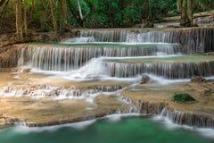 Cascade de la Thaïlande dans Kanchanaburi Photo libre de droits