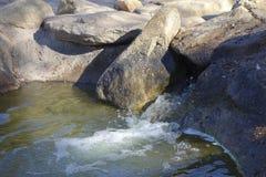 Cascade de lac winter, Cortez Park, Phoenix, AZ photo stock