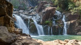 Cascade de Lodh ou de Burhaghat dans Jharkhand Images stock