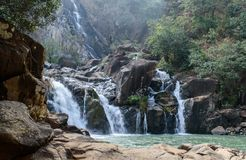 Cascade de Lodh ou de Burhaghat dans Jharkhand Images libres de droits