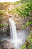Cascade de MÃ¥nafossen dans Rogaland, Norvège photo libre de droits