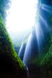 Cascade de Madakaripura, Java-Orientale, Indonésie photo libre de droits