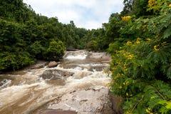 Cascade de Mae Klang, Thaïlande Photographie stock libre de droits